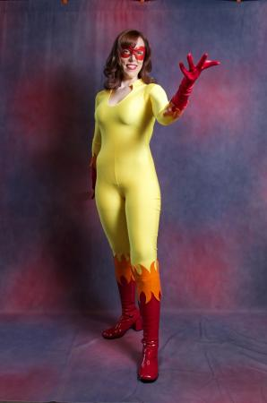 Firestar from Spider-man