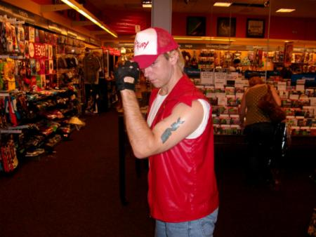 Terry Bogard from Fatal Fury
