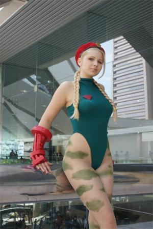 Cammy from Street Fighter IV worn by Fong