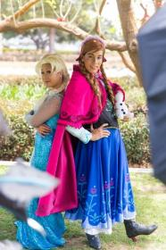 Anna from Frozen  by TLMFanGabriel