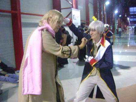 Prussia / Gilbert Weillschmidt from Axis Powers Hetalia worn by Mr. Pineapple