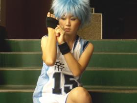 Kuroko Tetsuya from Kuroko's Basketball worn by Koori Tsuki