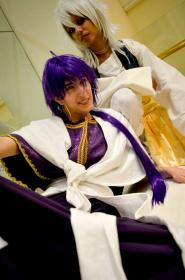Sinbad from Magi Labyrinth of Magic  by Ginryuu