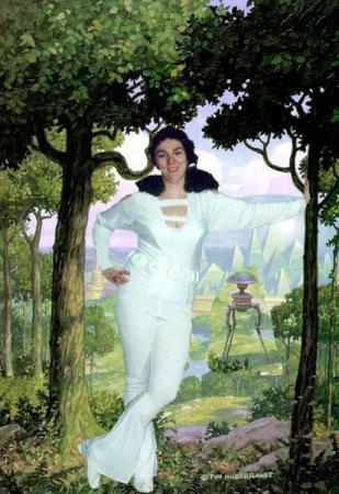 Phantom Girl from Legion of Superheroes, The
