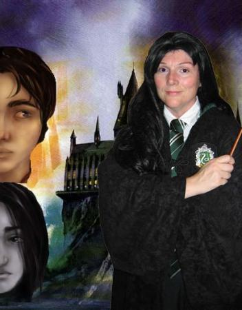Slytherin Student from Harry Potter
