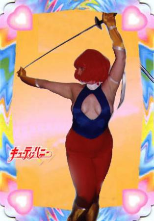 Honey Kisaragi from Cutey Honey