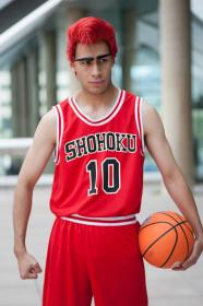Sakuragi Hanamichi from Slam Dunk