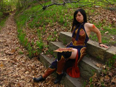 Shanoa from Castlevania: Order of Ecclesia worn by Darizard