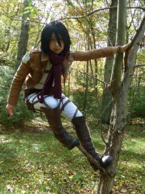 Mikasa Ackerman from Attack on Titan worn by Darizard