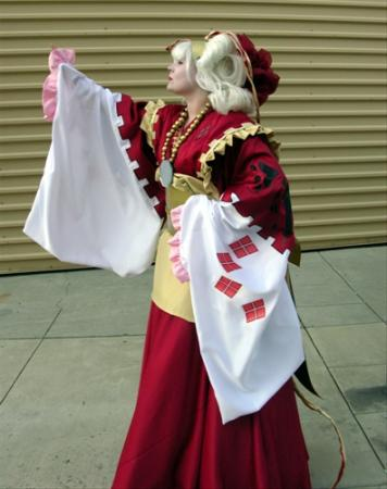 Amaterasu from Five Star Stories worn by Luckygrim