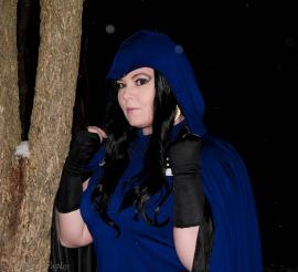 Raven from Teen Titans worn by Luckygrim
