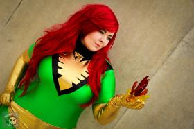 Phoenix from X-Men worn by Luckygrim