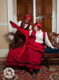 Madam Red from Black Butler worn by Luckygrim