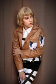 Armin Arlelt from Attack on Titan worn by faecakes