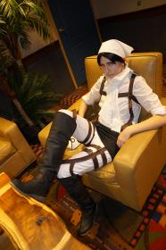 Levi from Attack on Titan worn by faecakes