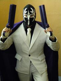 Mask DE Smith from Killer7 worn by Siyegen