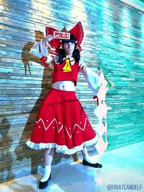 Reimu Hakurei from Touhou Project worn by pirateandelf
