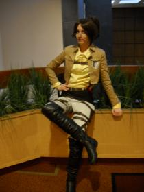 Hanji Zoe from Attack on Titan worn by pirateandelf
