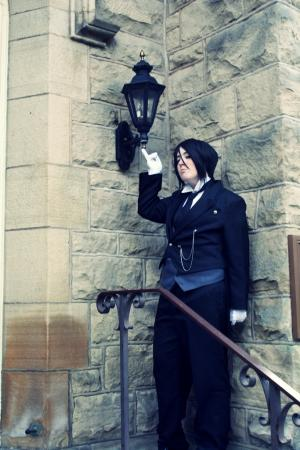 Sebastian Michaelis from Black Butler worn by jessicalynnchan