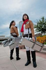 Sasha Braus from Attack on Titan worn by hyperionkp