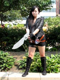 Squall Leonheart from Final Fantasy VIII worn by jungles