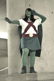 Miss Martian / M'gann M'orzz / Megan Morse from Young Justice worn by metalsummer