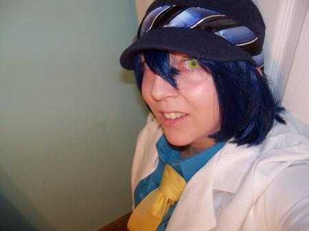 Naoto Shirogane from Persona 4 worn by metalsummer