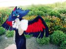 Honchkrow from Pokemon worn by Ivyna J. Spyder