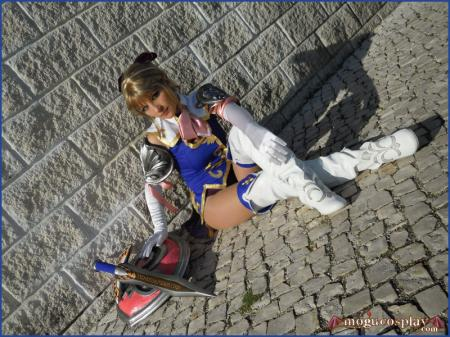 Cassandra Alexandra from Soul Calibur 4