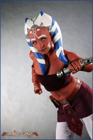Ahsoka Tano from Star Wars: The Clone Wars worn by Mogu