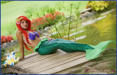 Ariel from Little Mermaid worn by Mogu