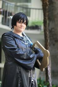 Xion from Kingdom Hearts 358/2 Days worn by ZackPuppy