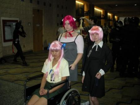 Nana from Elfen Lied worn by GothTea