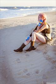Serah Farron from Final Fantasy XIII-2 worn by Melodia Stella