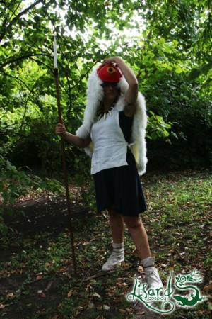 San from Princess Mononoke worn by Lisard