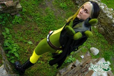 Rogue from X-Men worn by Lisard