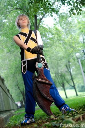 Riku from Kingdom Hearts worn by Margot la Rue