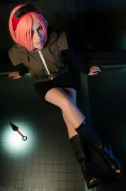 Sakura Haruno from Naruto Shippūden worn by Margot la Rue