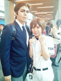 Takigawa Chris Yuu from Ace of Diamond worn by amaryie