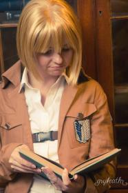 Armin Arlelt from Attack on Titan worn by Chibi Inu Tsuzuki
