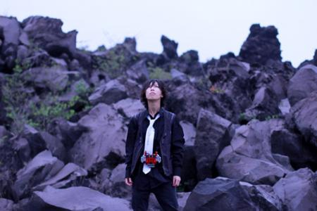 Shotaro Hidari from Kamen Rider W (Double) worn by Mike Murua