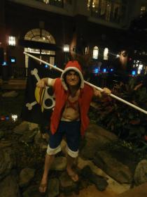 Monkey D. Luffy from One Piece worn by Dragon Sage