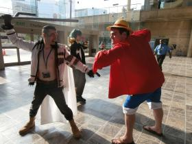 Monkey D. Luffy from One Piece  by Dragon Sage