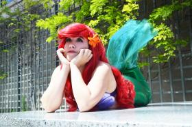 Ariel from Little Mermaid worn by SheepyStars