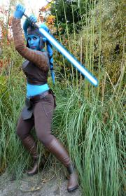 Aayla Secura from Star Wars Episode 2: Attack of the Clones worn by Kitteh Cosplay