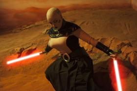 Asajj Ventress from Star Wars: The Clone Wars worn by Kitteh Cosplay