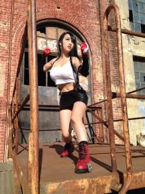 Tifa Lockhart from Final Fantasy VII worn by Vampy