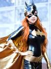 Batgirl from Batman worn by Vampy