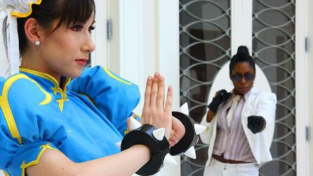 Chun Li from Street Fighter IV
