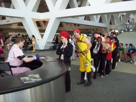 Dan Hibiki from Street Fighter IV